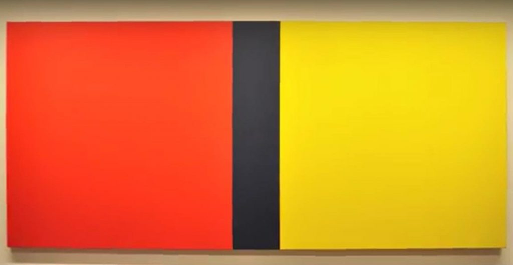 Who's Afraid of Red, Yellow and Blue?, Barnett Newman